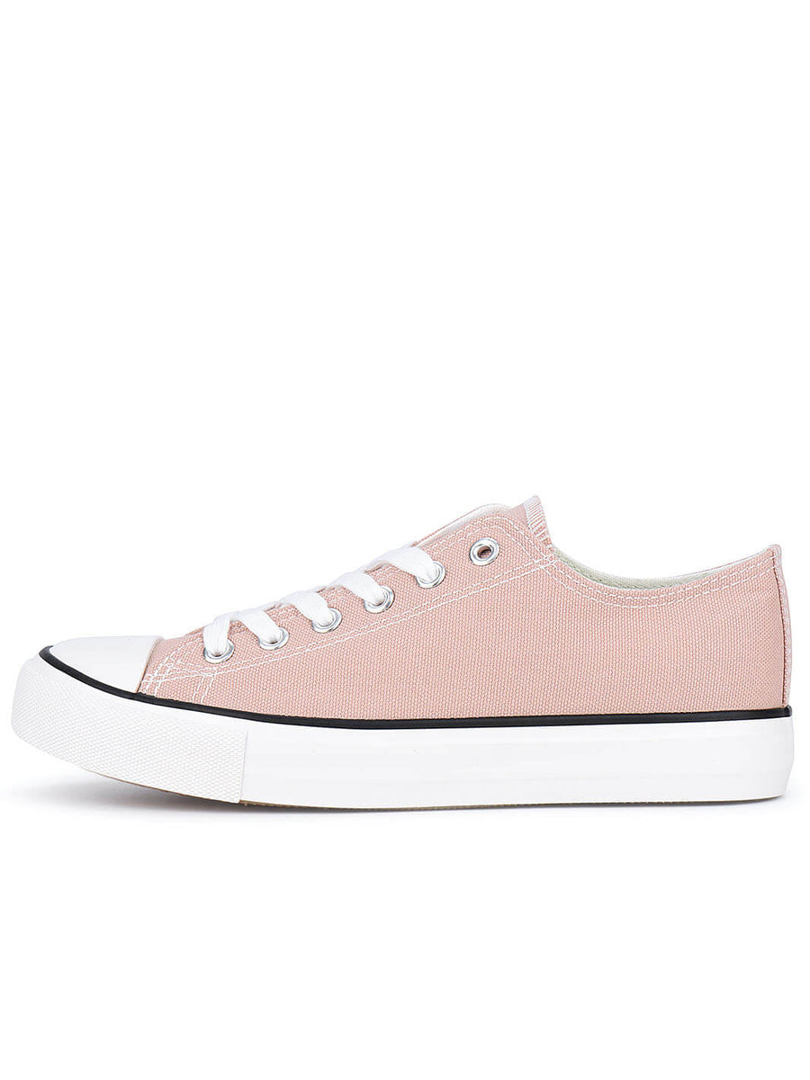 Low Top Classic Canvas Sneaker#color_pink