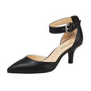 Nemesis Ankle Strap Pump Black