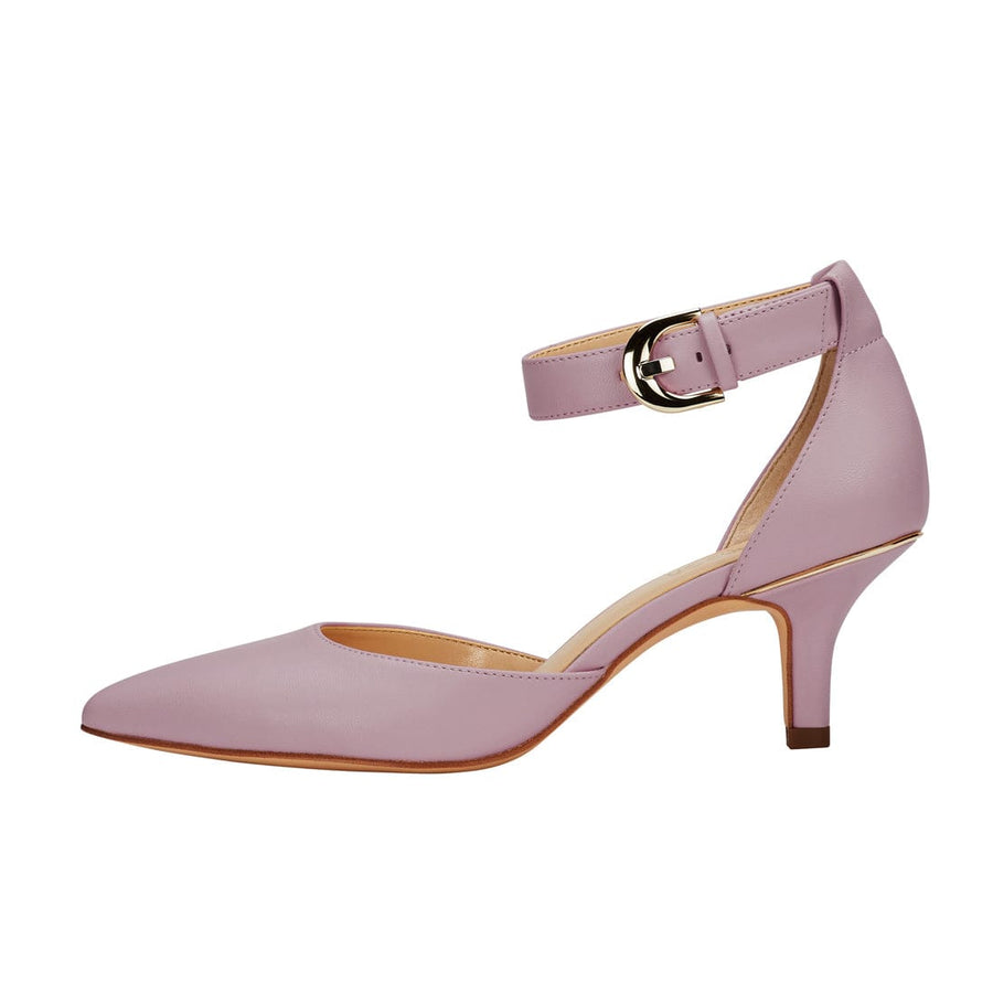 Nemesis Ankle Strap Pump Purple