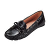 Metis Dockside Flat Shoes Black