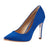 Moerae Pointed Toe Pump Blue