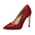 Moerae Pointed Toe Pump Red