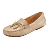 Graces Dockside Loafer Flat Beige