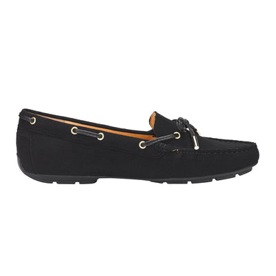 Graces Dockside Loafer Flat Black