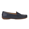 Muses Moccasin Loafer Flat Dark Blue