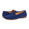 Muses Moccasin Loafer Flat Navy