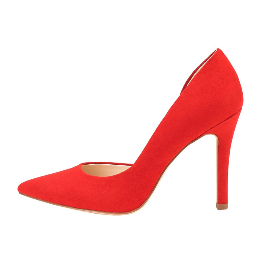 Melpomene D'Orsay Pump Red