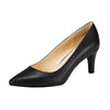 Philotes Mid Heel Pump Black