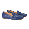 Aglaia Slip-On Moccasin Loafer Navy
