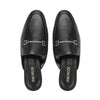 Mule Flat Shoes Black