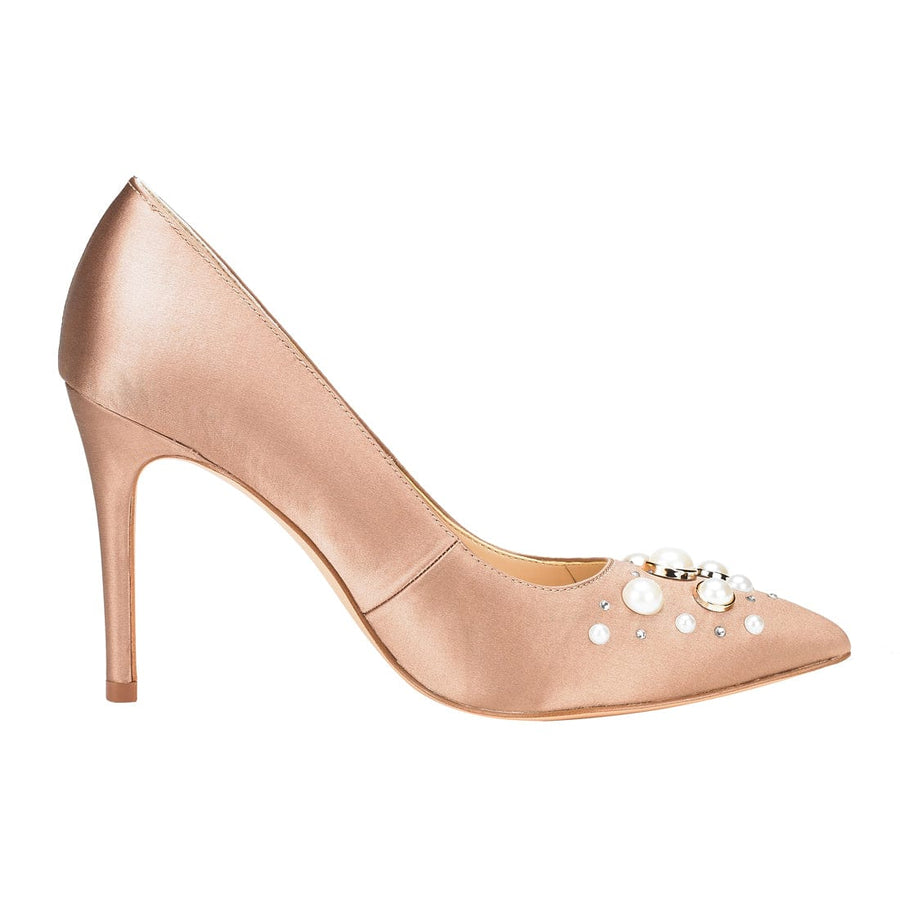 Clio Stiletto Pointed Top Pump Pink