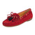 Calliope Dockside Loafer Flat Red