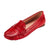 Eurynome Slip-on Loafer Red