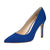 Urania Stiletto Heel Pump Blue