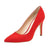 Urania Stiletto Heel Pump Red