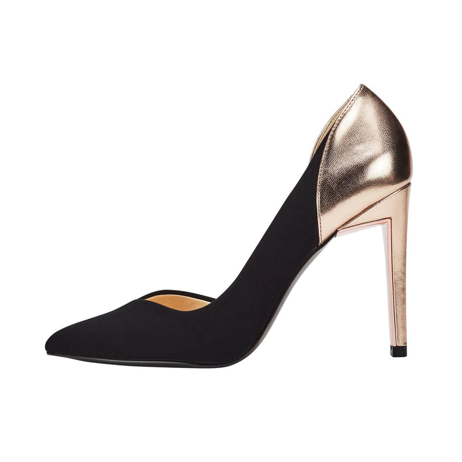 Athene Stilleto D'Orsay Pump Black