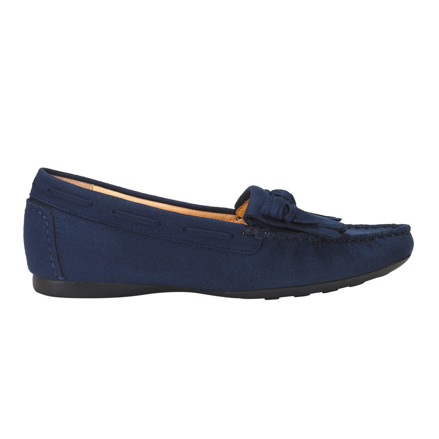 Euphrosyne Tassel Trim Dockside Navy