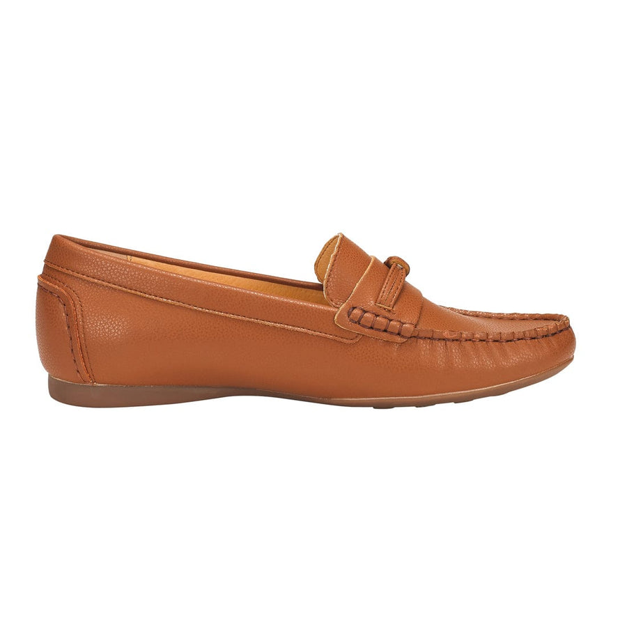 Thalia Moccasin Flat Shoes Brown