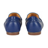 Thalia Moccasin Flat Shoes Blue