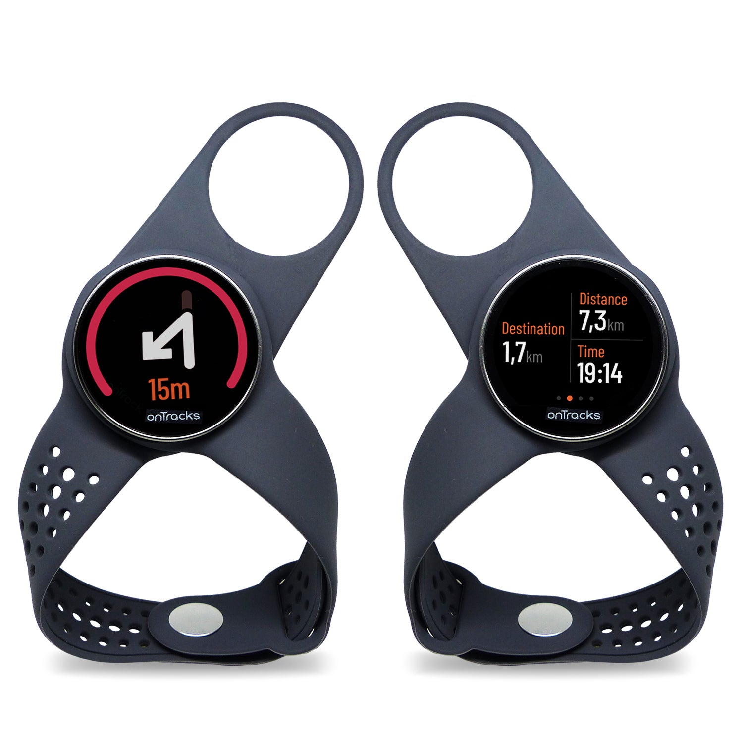 "GPS trottinette - gps vélo - gps scooter - moto GPS - GuideWatches ""MOBILE"" onTracks"