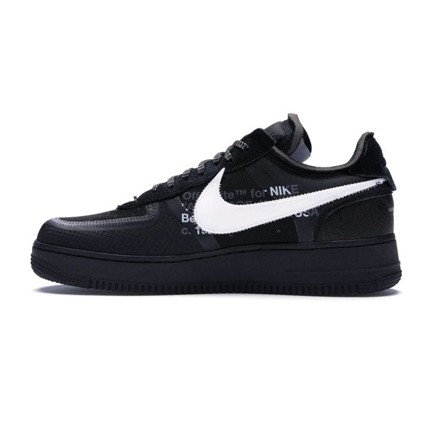 promo code a7d0d 295e9 Nike Air Force 1 Low x Off White 'Black'
