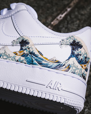 air force 1 custom kanagawa