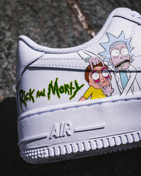 AIR FORCE 1 : Rick et Morty