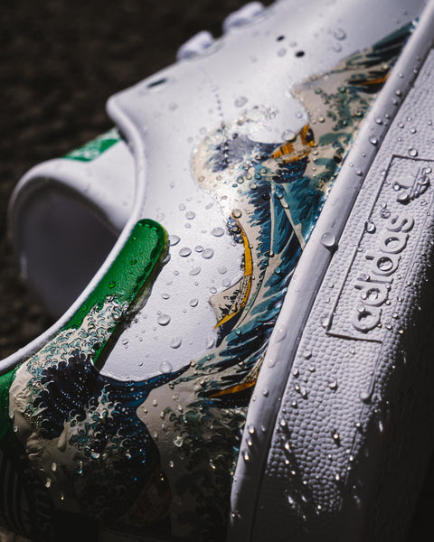 stan smith  vague de kanagawa