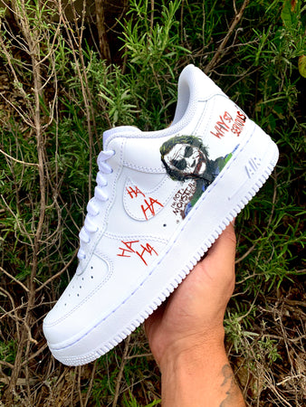 AIR FORCE 1 custom joker/ Batman