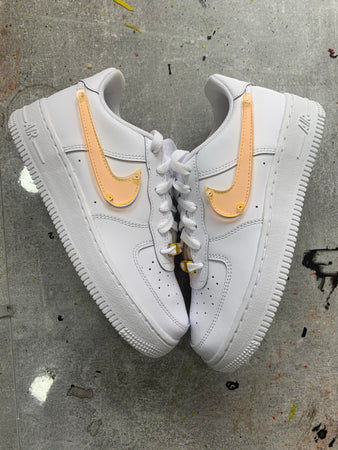 AIR FORCE 1 : PLEXI ORANGE