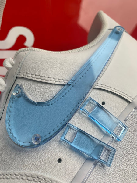 AIR FORCE 1 : PLEXI BLUE