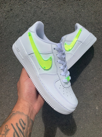 AIR FORCE 1 : PLEXI GREEN