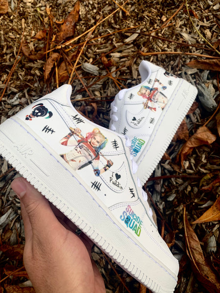 AIR FORCE 1 special Sibel: Harley Quinn