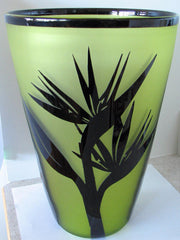 Correia Art Glass Vase Limited Edition Signed 49/500