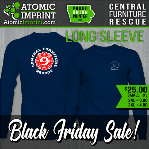 Central Furniture Rescue - Premium Blend Long Sleeve Tee