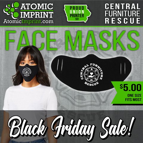 Central Furniture Rescue Face Mask