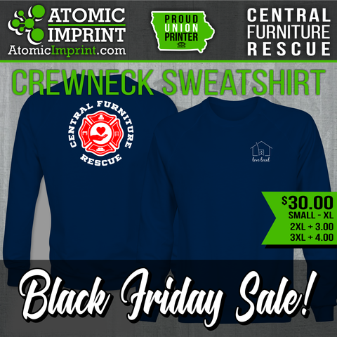 Central Furniture Rescue - Premium Crewneck Sweatshirt