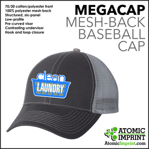 Clean Laundry Mesh Back Cap