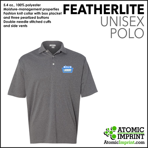 Clean Laundry Unisex Dry-Fit Polo