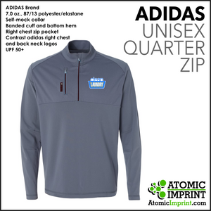 Clean Laundry Adidas Quarter-Zip Unisex  Jacket