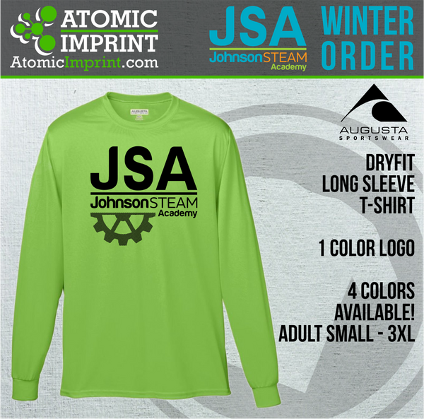 2019 JSA - Dryfit Long Sleeve Tee
