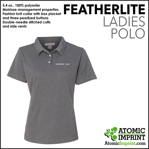 Fasteners Plus Ladies Dry-Fit Polo