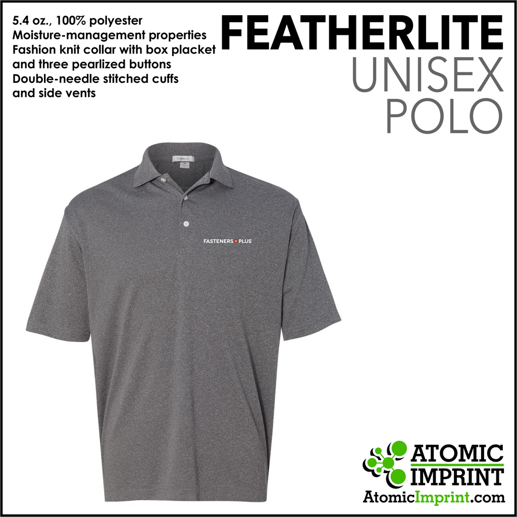 Fasteners Plus Unisex Dry-Fit Polo