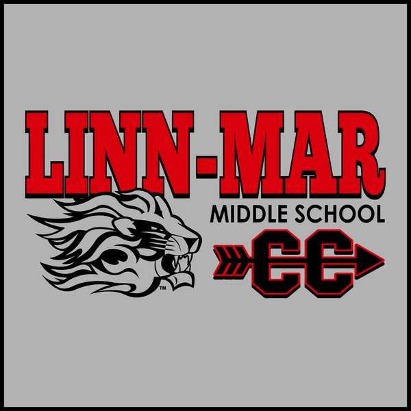 Linn-Mar Middle School Cross Country Short Sleeve Dry-Fit Tee