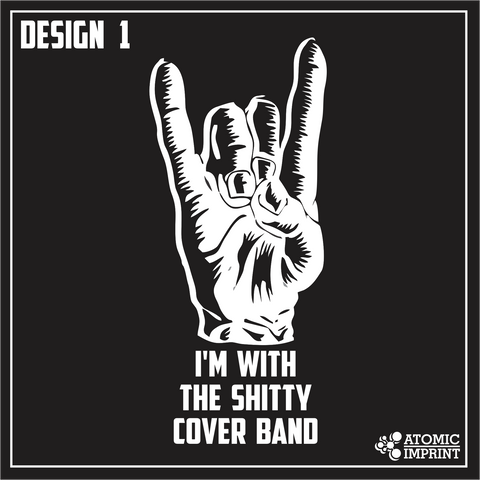 Sh*tty Cover Band Tee Design 1