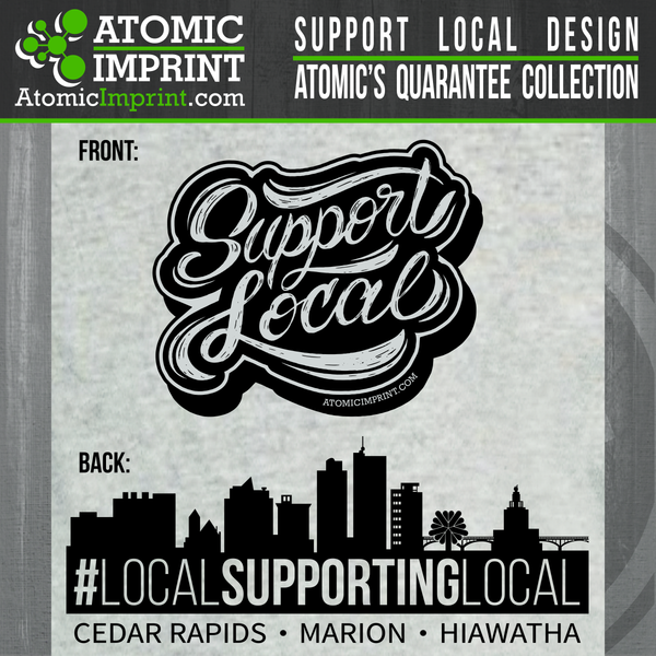 Atomic QuaranTEE Collection - Support Local Tee
