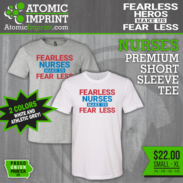 Fearless Hero Short Sleeve T-Shirts