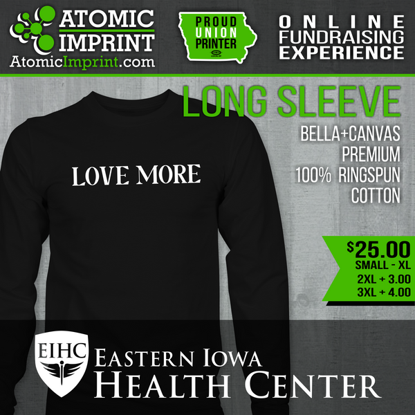Eastern Iowa Health Center Fundraiser - Premium Blend Long Sleeve Tee