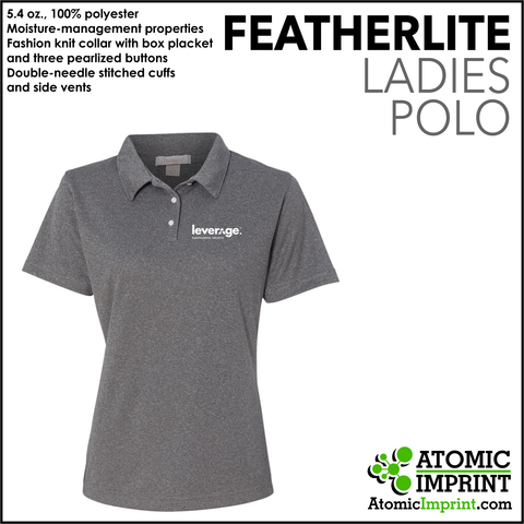Leverage Ladies Dry-Fit Polo