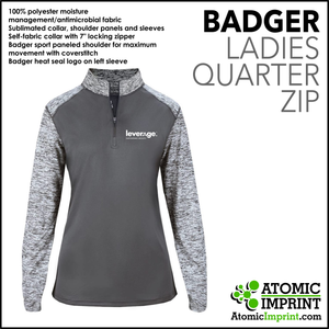Leverage Badger Quarter-Zip Ladies Jacket